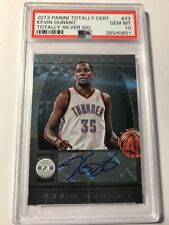 2013 Panini Totally Certified Kevin Durant #23 AUTO Autograph PSA 10 Gem Mint