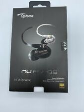 Optoma Nuforce(White)HEM Dynamic High Resolution In Ear-Canal Headphone
