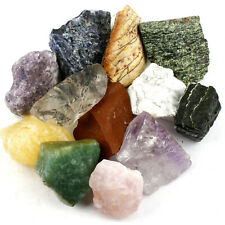 Crystal Allies: 3lb Bulk Rough Brazilian 10-Stone Mix Raw Stones Large 1""