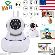 HD 720P Wireless WIFI Webcam Security Network CCTV IP P2P Camera IR Night Vision