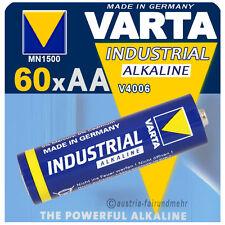"""""""60x VARTA Batterie MIGNON AA V4006 LR6 INDUSTRIAL"""