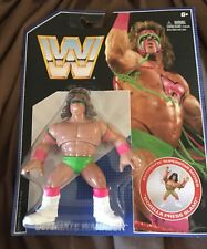 WWE WWF Ultimate Warrior Retro Hasbro Wrestling Figure NEW RARE!!