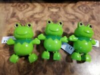 Happy Frog  Wind Up Floating Toys for Swimming Pool Bath Tub Toddler Kids