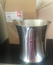 DOM PERIGNON PEWTER COOLER / BUCKET  NEW BUT HAS TRANSIT DAMAGE SEE PHOTOS NO1