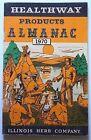 Vintage 1970 HEALTHWAY PRODUCTS ALMANAC Illinois Herb Company Booklet
