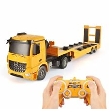 Remote Control RC Truck Flatbed Semi Trailer Kid Electronics Hobby Toy Xmas Gift
