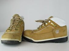 Youth TIMBERLAND KIDS 41944 Basic Leather HIKING Boots WHEAT 3.5 BROW
