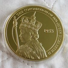 2012 The Coronation of Queen Elizabeth II The Queens Diamond Jubilee Medallion