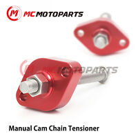 Red CCA HP Manual Cam Chain Tensioner For Yamaha YXR 450 Rhino 2006-2009 08 07