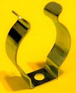 Clip Schelle für Leuchtstoffröhre LED T8  26mm Federstahl   DHL DE