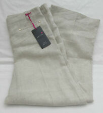 Marks and Spencer Linen Wide Leg Mid Women's Trousers