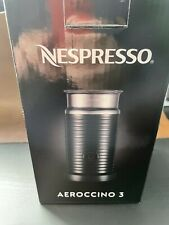 BRAND NEW Nespresso  Aeroccino 3 Electric Milk Frother Warmer, Black 3594-US-BK