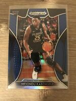 Mint Mfiondu Kabengele 2019-20 Panini Prizm Draft Picks BLUE Rookie RC 91