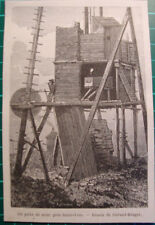 St Ives Cornwall mine mines  - antique print 1865