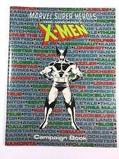 Marvel Super Heroes 1990: The Uncanny X-Men Campaign Book TSR