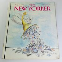 The New Yorker: August 13 1990 - Full Magazine/Theme Cover Ronald Searle
