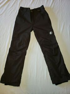 GRENADE FATIGUE  PROJECT Gray WATERPROOF Cargo Snowboard Pants Size Men's MEDIUM