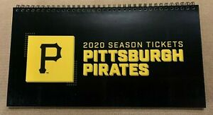 2020 Pittsburgh PIRATES Season Ticket Holder Book ALL 81 GAMES - Collectors Item