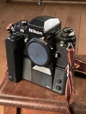 Nikon F3 Film Camera With Motor Drive And Genuine Strap