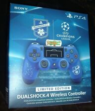 Official SONY DualShock 4 F.C Limited Edition Blue Wireless V2 Controller NEW