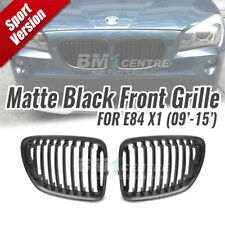 Matte Black Kidney Front Mesh Grille Nose for BMW X1 E84 SUV 2009-2015 Genuine