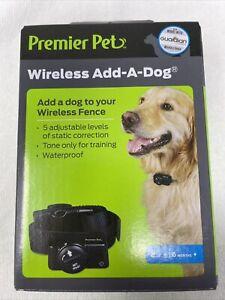 Premier Pet (GIF00-16918) - Wireless Add-A-Dog Collar (8lbs+)....NEW!!!
