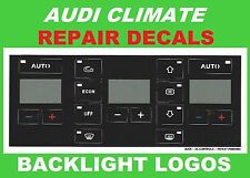 AUDI A4 CLIMATE TEMPERATURE A/C HEATER CONTROL BUTTON BUTTONS SWITHES KNOB