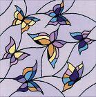 RIOLIS 1625 Vetro colorato Farfalla Kit ricamo punto croce pré stampato