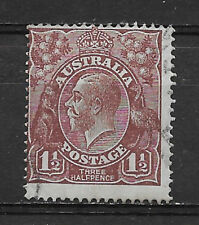 Australia , 1914/24 , George V , No. 24 , 11/2p Stamp , Perf , Used