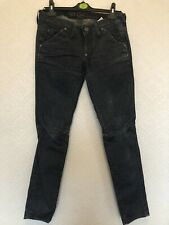 G Star Womans Straight Cut Jeans Size 27W 32L (size10)