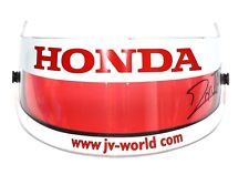 Race-Used Visor F1 Indy 500 Winner 2003 Jacques Villeneuve BAR Honda SIGNED