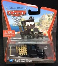 Disney Pixar Cars 2 Galloping Geargrinder #41 Mattel 2012 WOC New