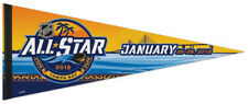 NHL Hockey All-Star Game 2018 (Tampa Bay) Premium Felt Collector's PENNANT