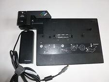 IBM Lenovo Portreplikator Advanced Mini Dock  2504 Thinkpad T500 R500 + Netzteil
