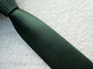 OLIVE GREEN SKINNY SLIM 2.25 INCH polyester TIE necktie by NEXT