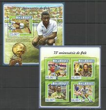 ST2340 2015 MOZAMBIQUE SPORT FOOTBALL PELE  KB+BL MNH