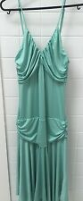Cherrie Size 10 Mint Green Dress EUC Cocktail Party Evening Slinky Dressy Sexy