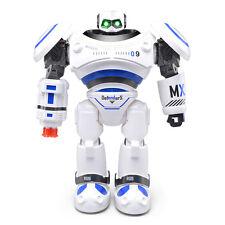 RC Smart R-1 Robot Infrared Slide Walk Shoot Missile Dancing Intelligen Toy Gift