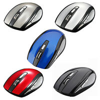 2.4G USB Receiver Wireless Optical Mouse For PC Laptop HP Dell Toshiba ACER HP
