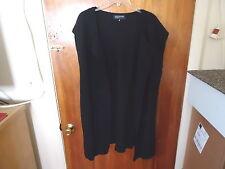 "Womens Jones New York Size XL Black Sleeveless Open Sweater Top "" BEAUTIFUL ITEM"