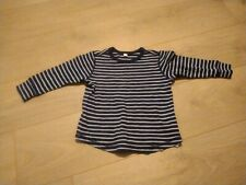 Esprit Boys Blue Striped Top Size 2-3 Years
