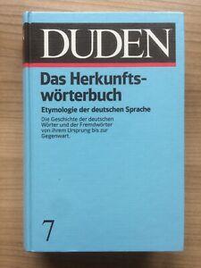 Der Duden in 12 Bänden: Band 7 - Das Herkunftswörterbuch | Buch | NEU