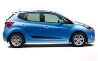 Türschutzleisten Rammschutz für Hyundai ix20 Schrägheck 2010-