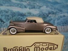 1/43 Brooklin models  BRK14 1940 CADILLAC V16 CONVERTIBLE COUPE   white metal