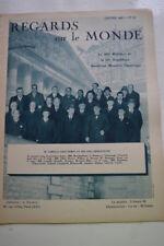 REGARDS SUR LE MONDE N°56 1938 DYNAMISME JAPONAIS EMPIRE COLONIAL FRANCAIS