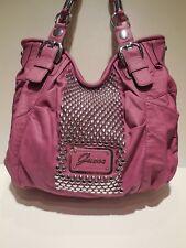 Brand New Guess Furious Faux Leather Mauve Color Large Size Shoulder Handbag