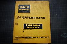CAT Caterpillar 183 Hydraulic Control Service Manual repair shop guide book 36E