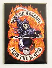 Son Of Anarchy Fear The Reaper Magnet Licensed Hot Properties New
