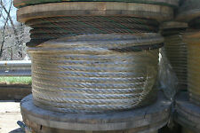 Washington Wire Rope Cable Full Spool PN RRW41OE One Inch Thick Steel 750'