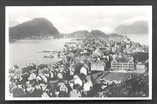 Aalesund Alesund Aerial view Møre og Romsdal Norway 30s